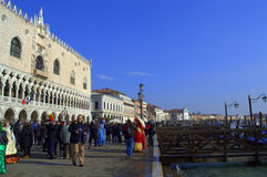 Förbluffa Venedig Royaltyfria Bilder