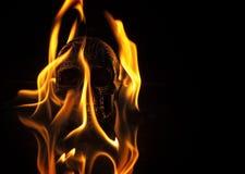 Förbränt Arkivbild