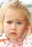 Förbryllad ilsken blick Royaltyfria Bilder