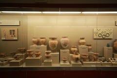 Förbudet Chiang är en arkeologisk plats i det Udon Thani landskapet, UNESCOvärldsarv efter 1992 royaltyfri bild