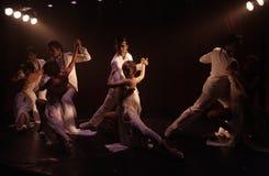 förbunde tango Arkivbilder