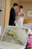 förbunden bröllop arkivfoto