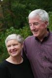 förbunden den lyckliga pensionären Royaltyfri Fotografi