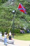 FörbundsmedlemMemorial Day deltagare, South Carolina Royaltyfria Bilder