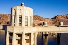 Fördämning för dammsugare för vattenkraftväxt namngiven, Nevada Royaltyfria Bilder