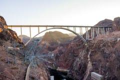 Fördämning för dammsugare för vattenkraftväxt namngiven, Nevada Royaltyfri Fotografi