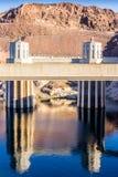Fördämning för dammsugare för vattenkraftväxt namngiven, Nevada Arkivbild