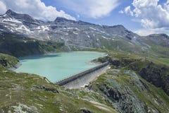 Fördämning på Lagoen Goilet Royaltyfri Bild