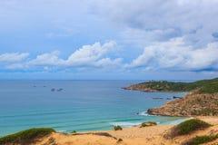Fördämningmåndag kust Royaltyfri Fotografi
