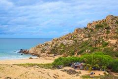 Fördämningmåndag kust Royaltyfri Foto