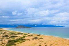 Fördämningmåndag strand Royaltyfri Fotografi