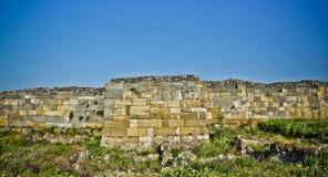 Fördärva av den gammala försvarväggen Royaltyfri Fotografi