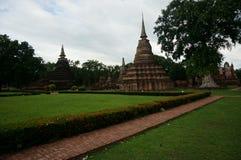 Fördärva av huvudstaden av kungariket, Thailand, avlägsen sikt, Royaltyfri Bild