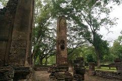 Fördärva av stenpelare, Thailand Arkivbilder