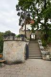 Fördärva av Valdstejn den gotiska slotten Arkivfoton