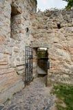 Fördärva av Valdstejn den gotiska slotten Royaltyfri Foto