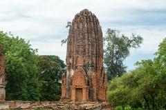 Fördärva i tempelkomplexet vilken Maha That Royaltyfri Foto