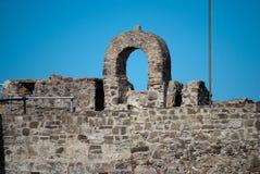 Fördärva slotten Arkivfoto