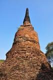 fördärvad forntida pagoda Arkivfoton