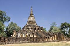 fördärvad gammal pagoda Royaltyfria Foton