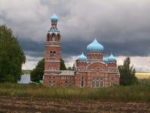 fördärvad kyrka royaltyfri foto