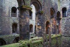 Fördärvar av århundrade för th för Rochester slott 12 Slotten och fördärvar av befästningar Kent sydostliga England Royaltyfri Bild