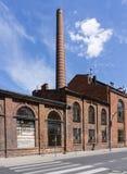 Fördärvar av övergiven fabrik Royaltyfri Foto