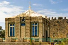 Fördärvar av Aksum (Axum), Etiopien Royaltyfri Bild