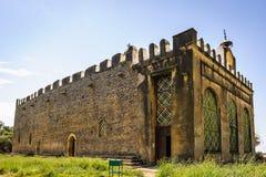 Fördärvar av Aksum (Axum), Etiopien Arkivbilder