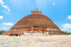 Fördärvar av Anuradhapura, Sri Lanka Royaltyfri Foto