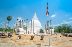 Fördärvar av Anuradhapura, Sri Lanka Royaltyfri Fotografi