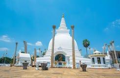 Fördärvar av Anuradhapura, Sri Lanka Arkivbilder