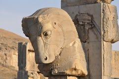 Fördärvar av av Persepolis Royaltyfri Bild