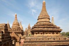 Fördärvar av Bagan, Myanmar Arkivfoton
