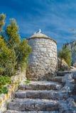 Fördärvar av befästningarna Royaltyfri Fotografi