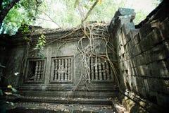 Fördärvar av Beng Mealea Royaltyfri Bild