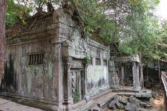 Fördärvar av Beng Mealea, Angkor, Cambodja Arkivbild