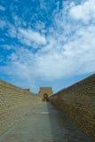 Fördärvar av Chor-baqr, Uzbekistan Royaltyfri Bild
