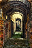 Fördärvar av Colosseum, Rome, Italien Royaltyfri Bild