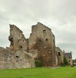 Fördärvar av den Aberdour slotten Arkivfoton