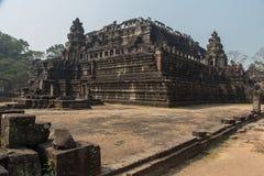 Fördärvar av den berömda templet av öde Arkivbild