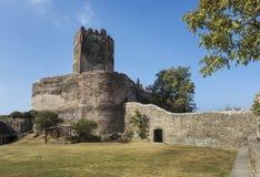 Fördärvar av den Bolkow slotten i Polen Royaltyfri Bild