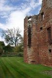Fördärvar av den Edzell slotten i Skottland Royaltyfria Bilder