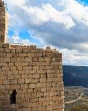 Fördärvar av den forntida fästningen, övreGalilee, Israel Begrepp: lopp, historia och natur Royaltyfria Foton