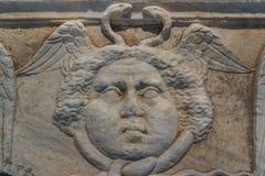 Fördärvar av den forntida romerska staden av Solin (Salona) royaltyfri fotografi