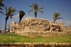 Fördärvar av den forntida staden. Royaltyfri Bild