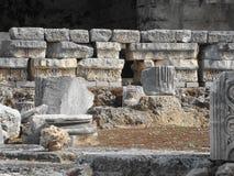 Fördärvar av den forntida staden Royaltyfria Foton