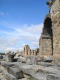 Fördärvar av den forntida staden Arkivbilder