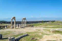 Fördärvar av den forntida staden i Turkiet Royaltyfri Fotografi