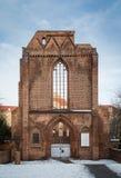 Fördärvar av den Franziskaner Klosterkirche domkyrkan, Berlin Royaltyfri Foto
